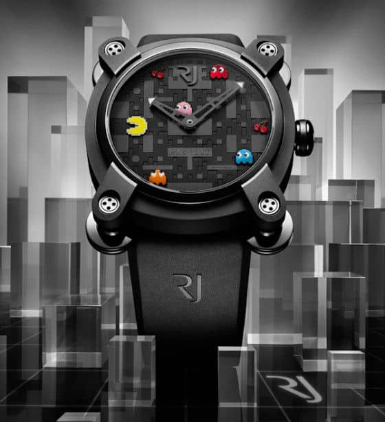 PAC-MAN watches by Romain Jerome