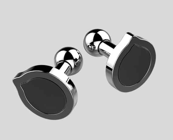 ak47 jewelry ak47 jewellery Fonderie47 steel cufflinks