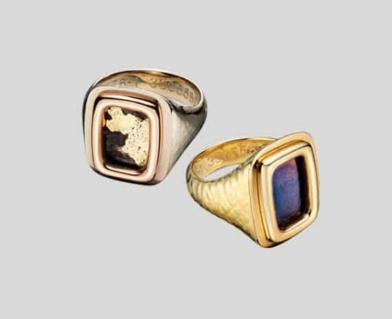 ak47 jewelry ak47 jewellery Fonderie47 mens gold rings