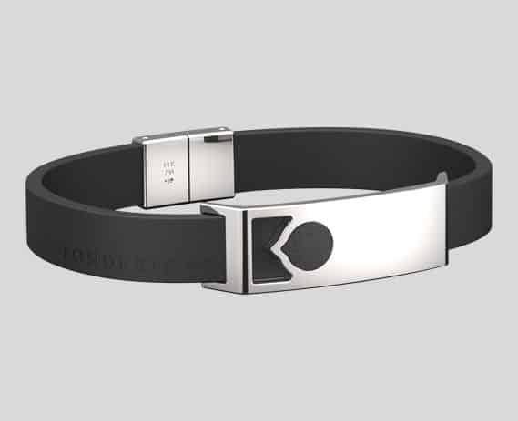ak47 jewelry ak47 jewellery Fonderie47 steel and rubber bracelet