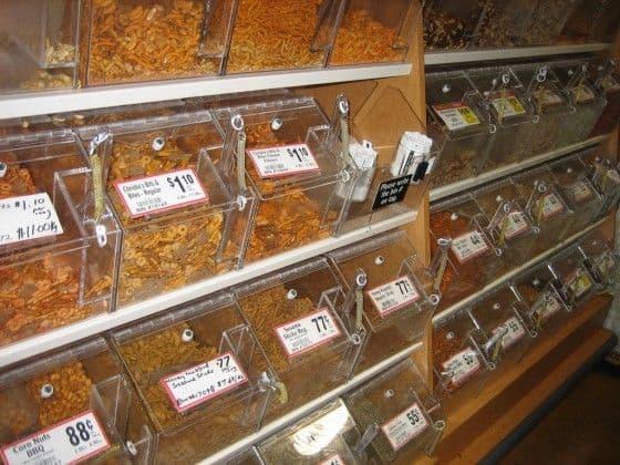 Bulk Foods in Bins