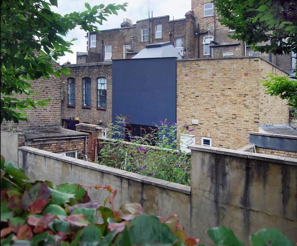 hidden house london teatum+teatum view from the street