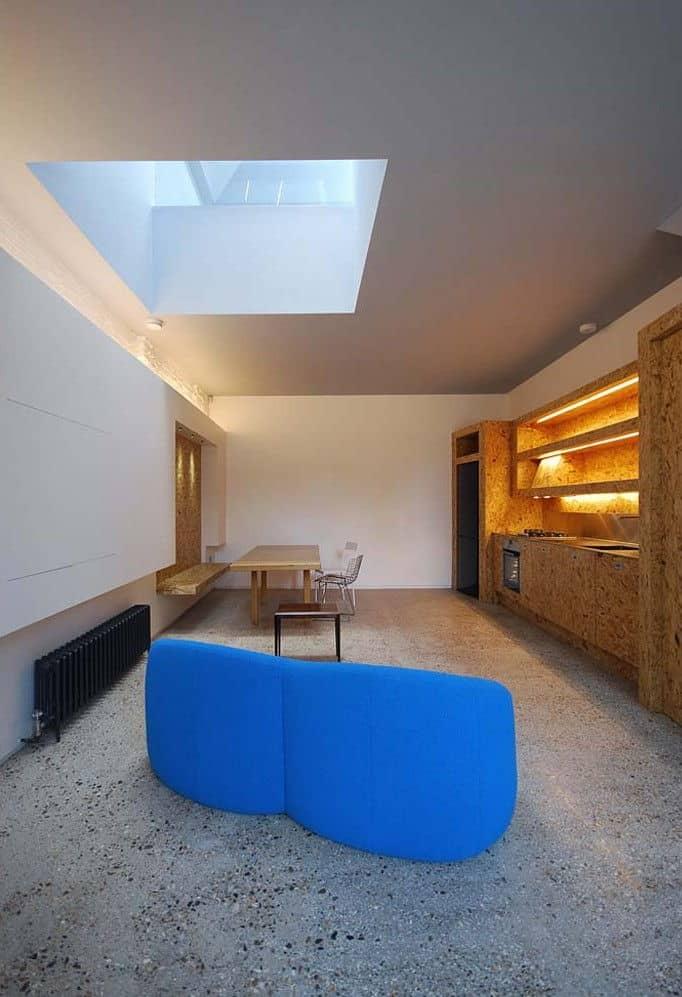 hidden house london teatum+teatum interior view