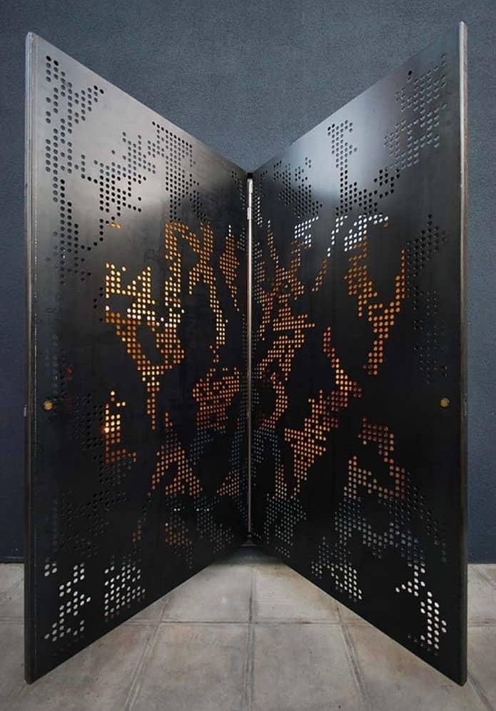 hidden house london teatum+teatum butterfly doors open