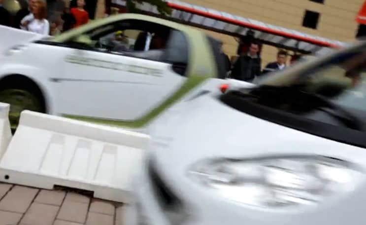 smart fortwo eball car pong
