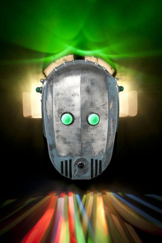 iron faced robot