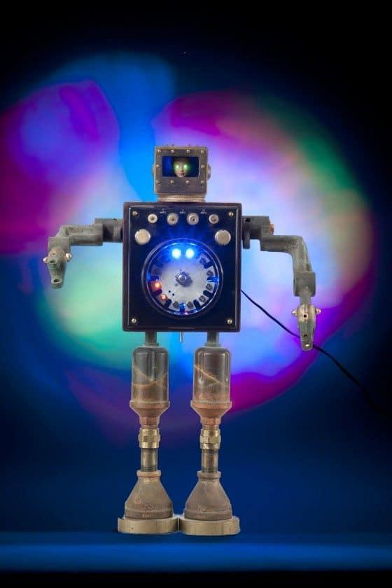 Creepy Talbotics Robot