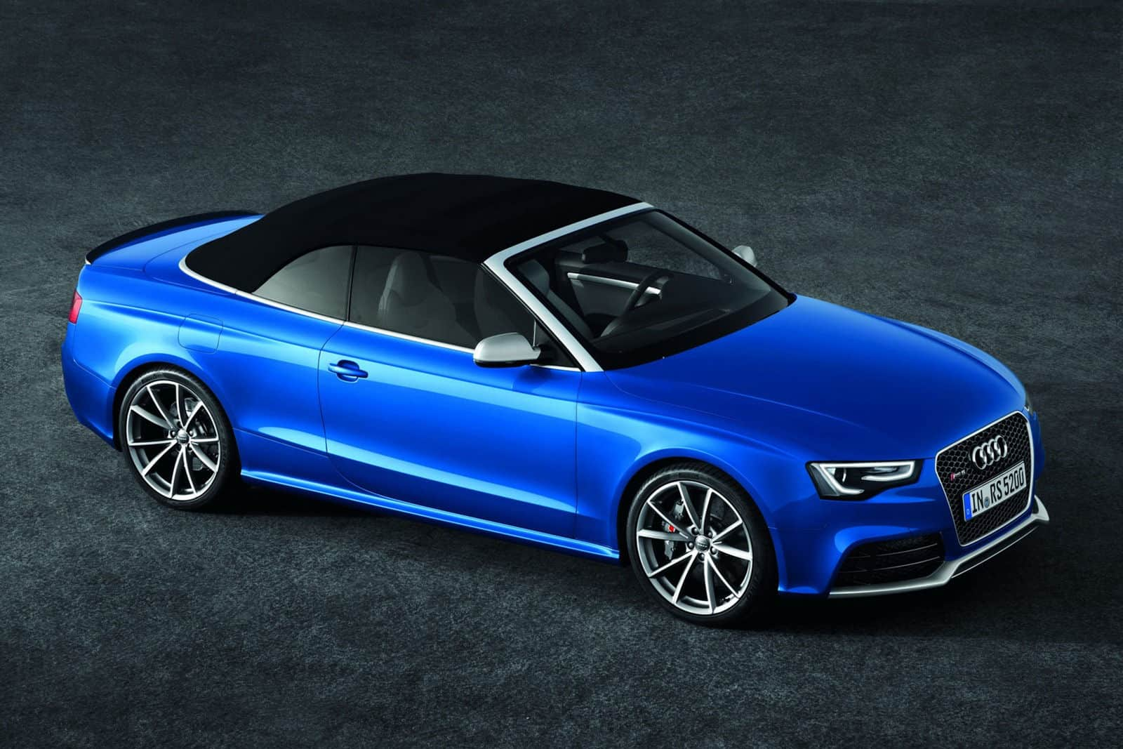 2013 Audi RS5 Cabriolet roof up