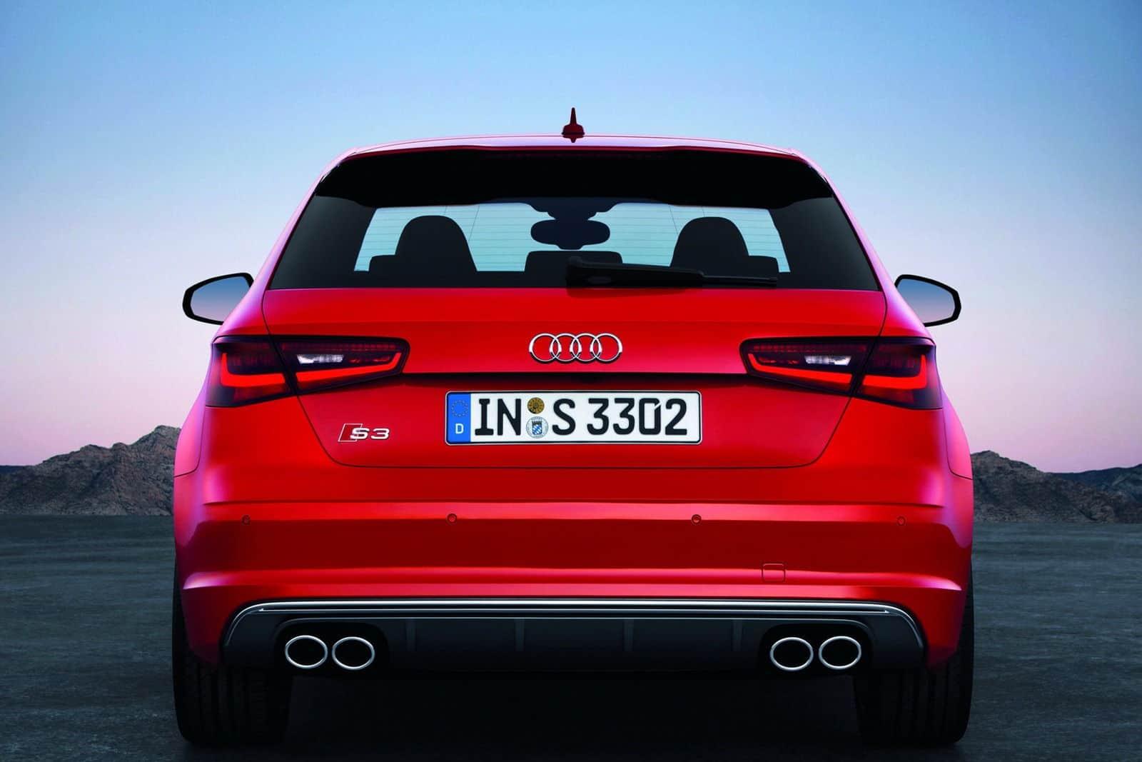 2013 Audi S3 Hatchback rear