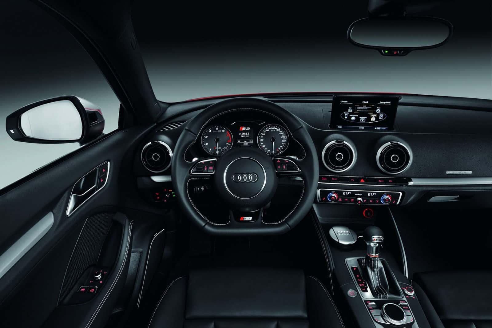 2013 Audi S3 Hatchback dashboard