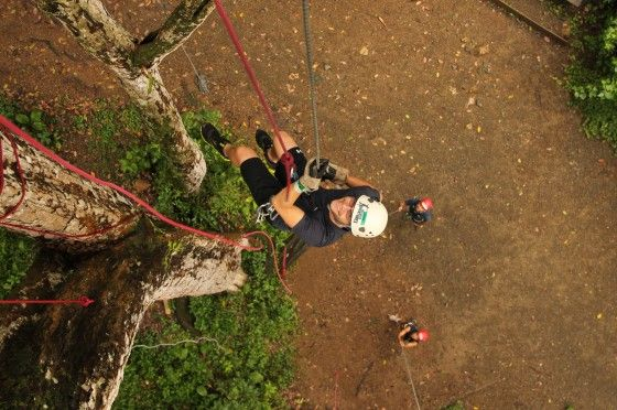 rappelling in mexico