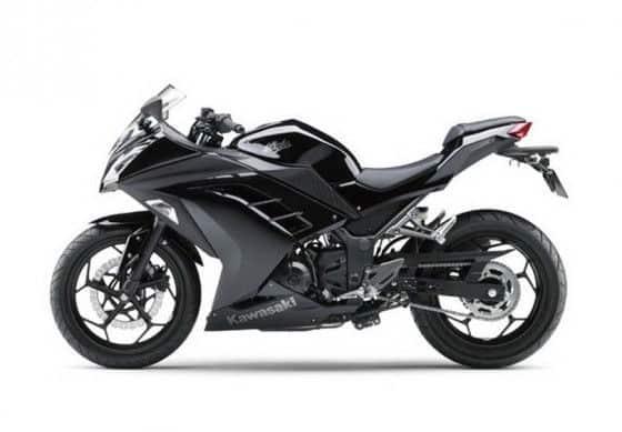 2013 Kawasaki Ninja 300 Black