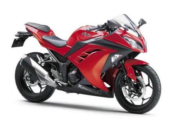 2013 Kawasaki Ninja 300 Red