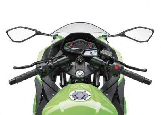 Kawasaki Ninja 300 gauge cluster