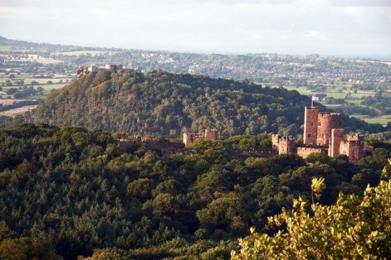 Peckforton Castle from the Hills