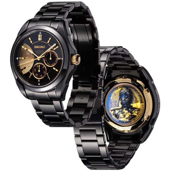 Seiko Star Wars C-3PO Watches