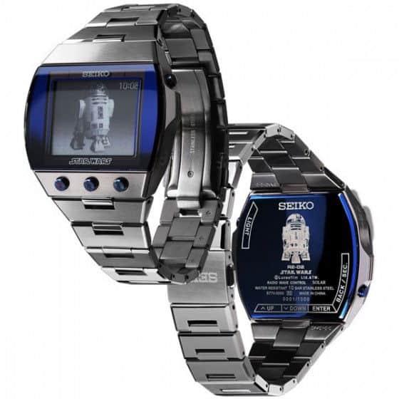 Seiko Star Wars R2-D2 Watches