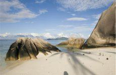 seychelles vacation la digue anse source d'argent granite