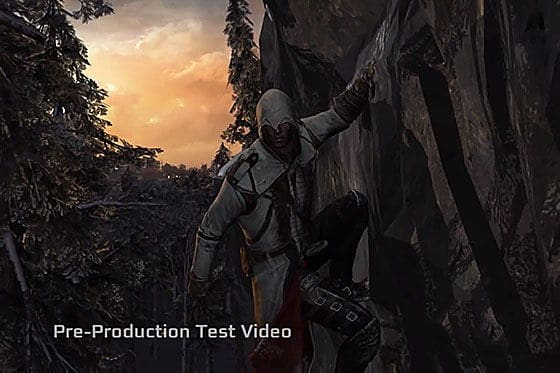 Designing Assassin S Creed 3 Prototype Footage Unfinished Man