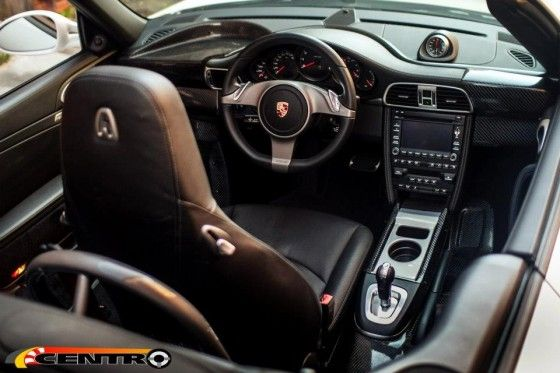 Porsche 911 with Middle Steering Wheel
