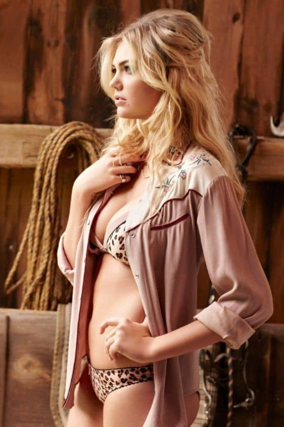 Kate Upton sexy lingerie cosmopolitan november