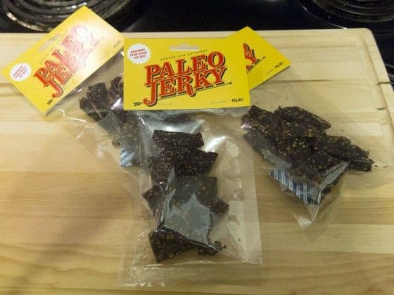 hunted & gathered paleo beef jerky
