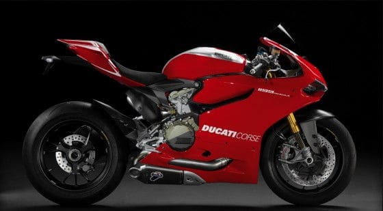 Ducati 1199 Panigale R superbike