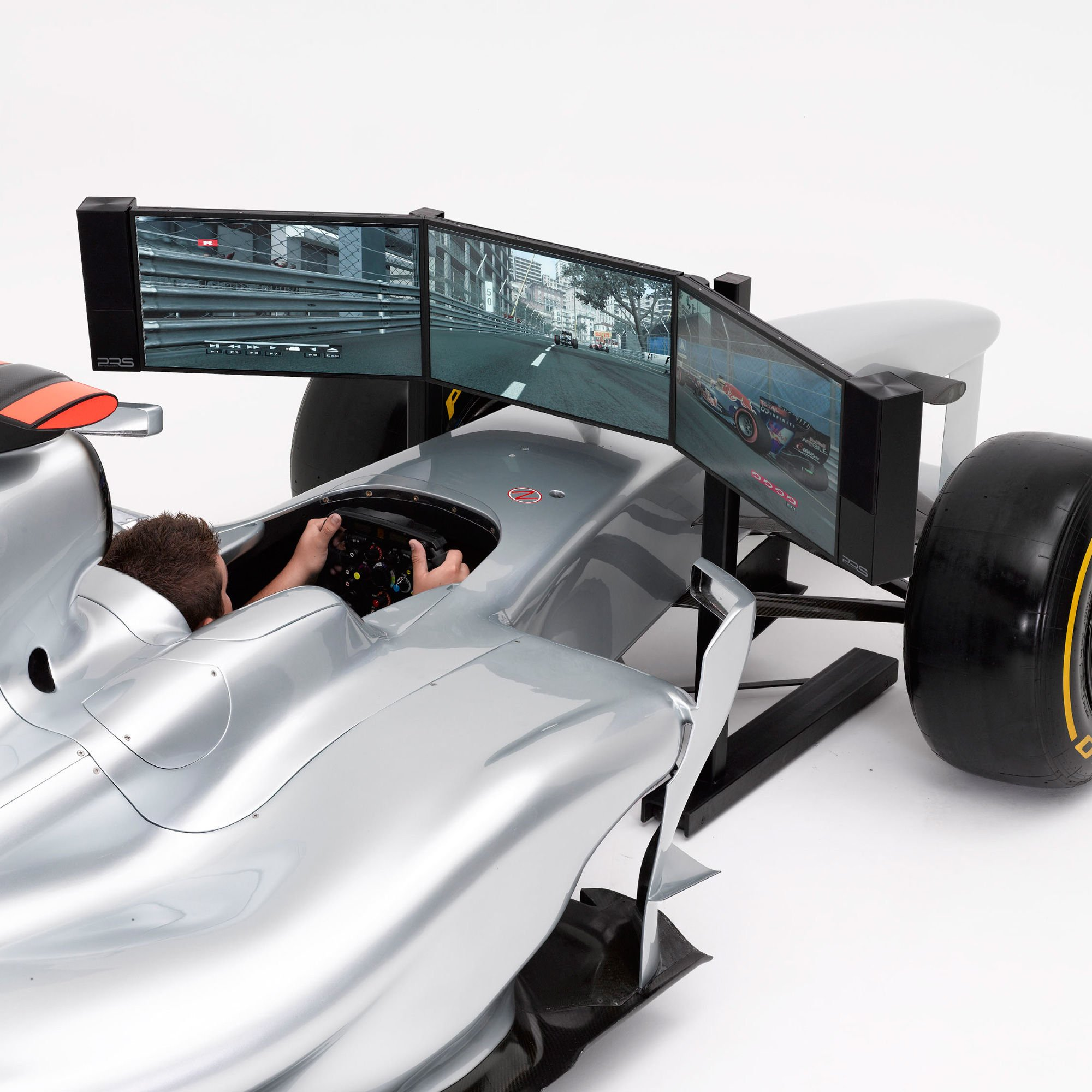 Full Size Formula 1 Racing Simulator for Video Games