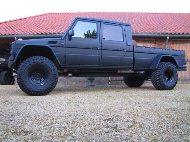 Mercedes benz g wagon xxl truck unfinished man for 2012 mercedes benz truck