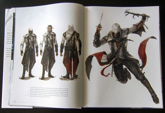 assassins creed 3 character art