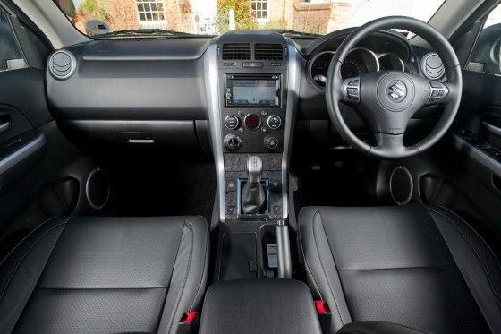Interior of Suzuki Grand Vitara