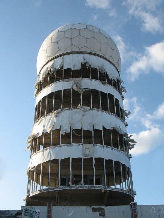 Main listening tower at Teufelsberg