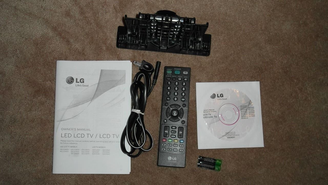 LG 42LS3400 TV Review