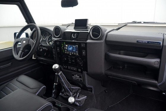 Startech Land Rover Defender Series 3.1 interior