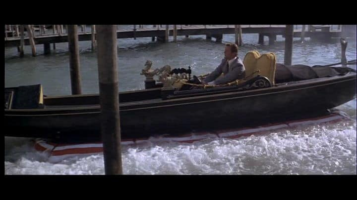 travelling to venice moonraker james bond gondola