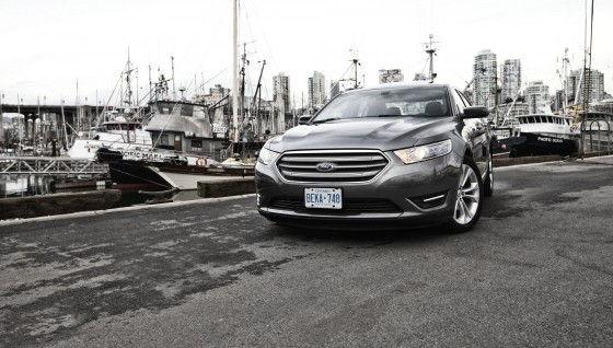 2013 Ford Taurus by ship docks