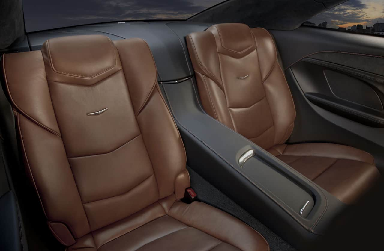 2014 Cadillac ELR rear bucket seats