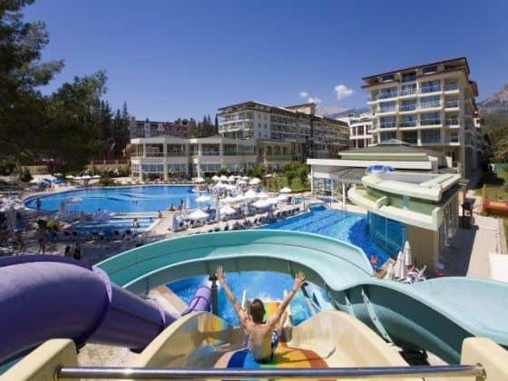 Pool at Kemer Resort Hotel in Turkey