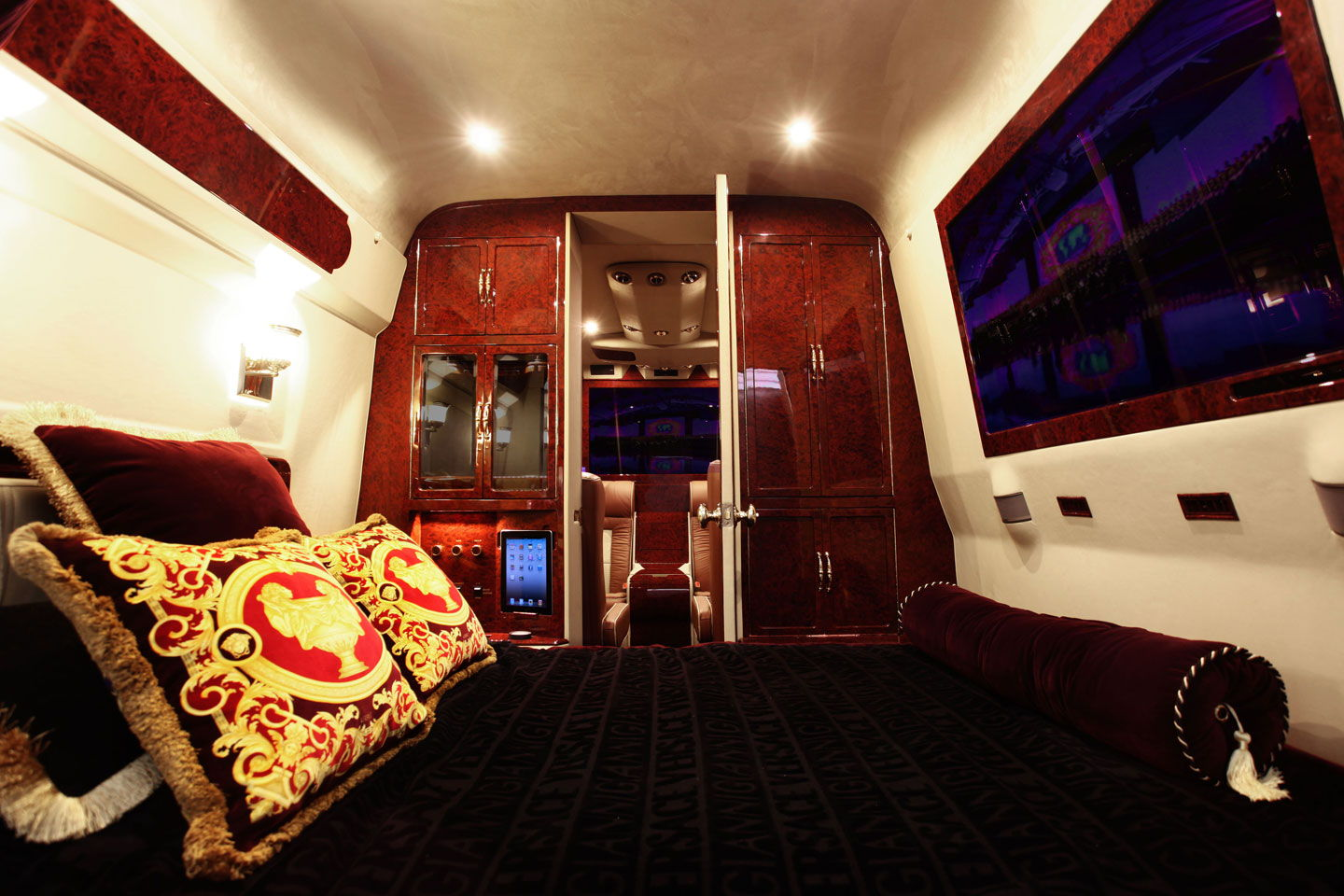 Super Luxurious Lexani Tuned Mercedes Sprinter Van With A