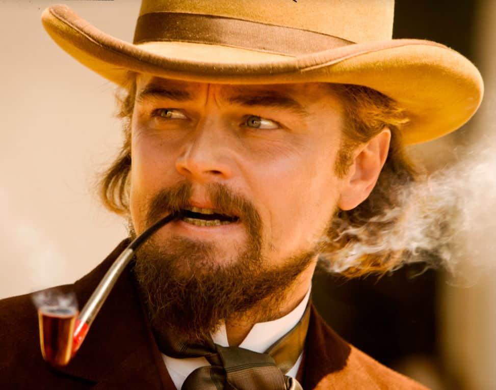 django unchained stetson cowboy hats smoking pipe