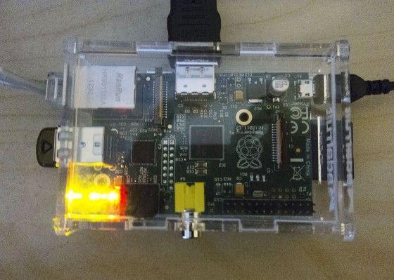working raspberrypi model b board