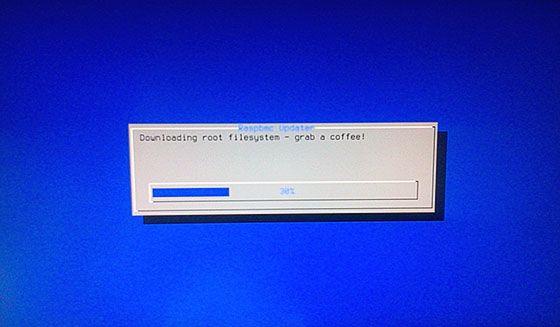 raspbmc install screen