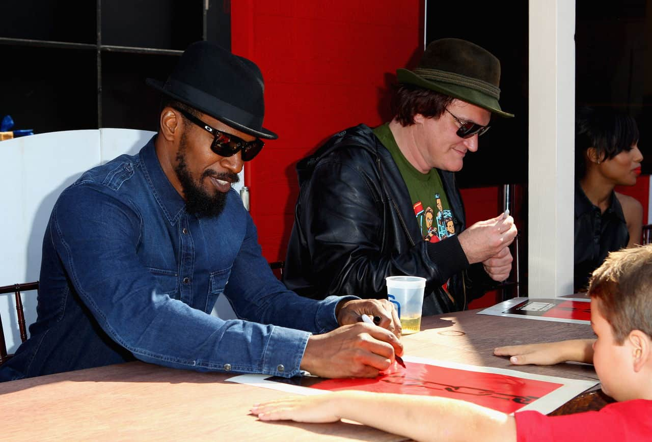 """""""Django Unchained"""" Old West Town At Comic-Con stetson cowboy hats"""