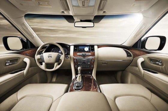 2013 Nissan Patrol Interior