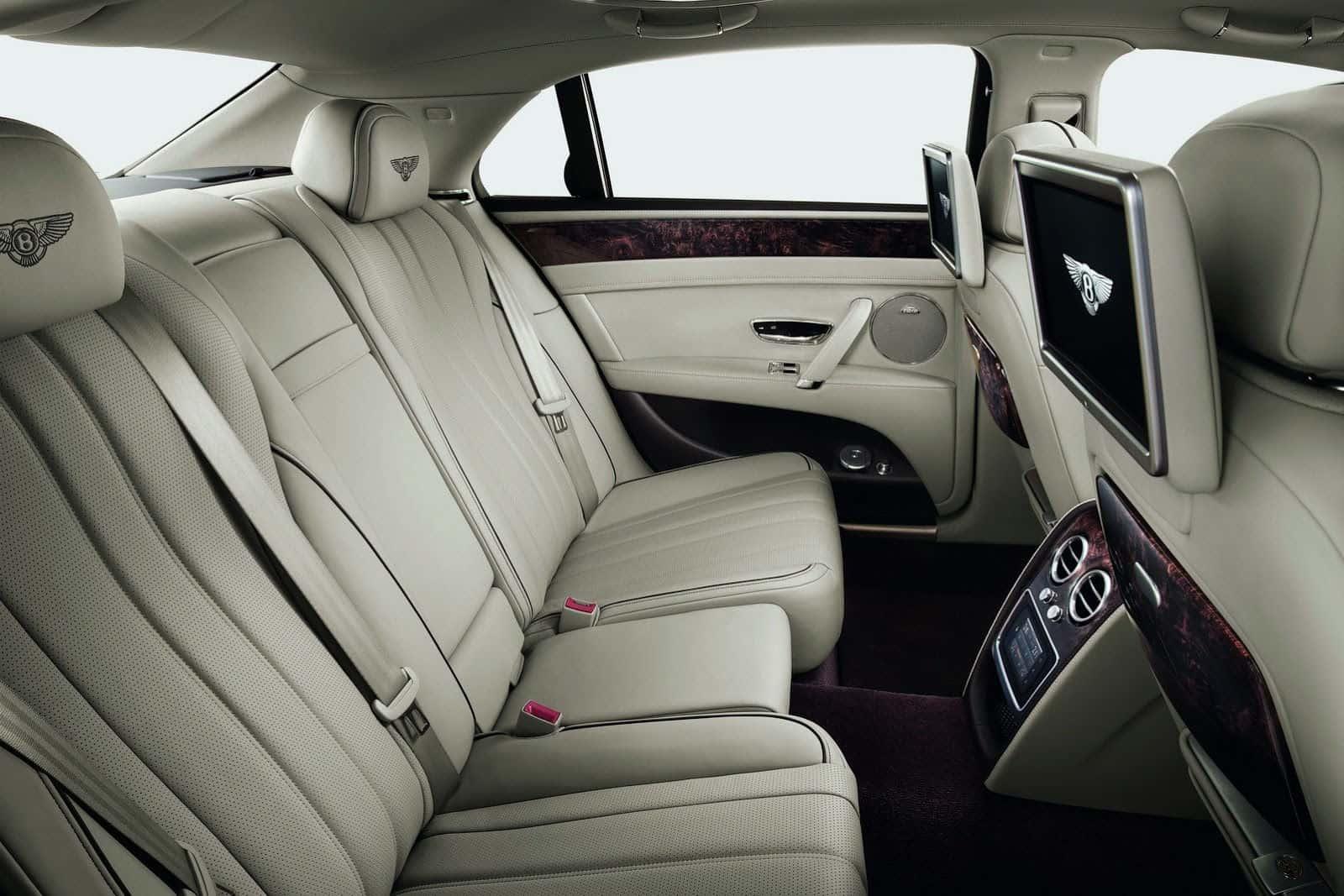 2014 Bentley Flying Spur interior Rear