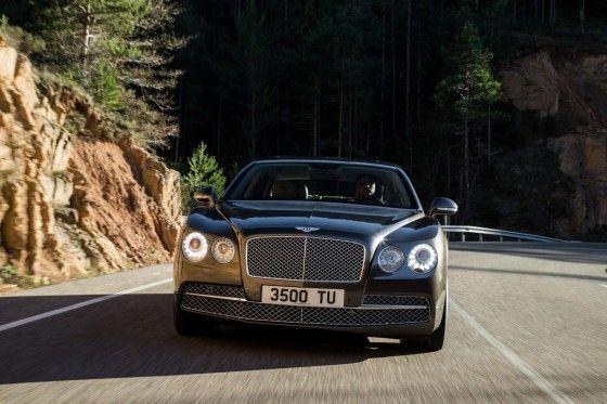 2014 Bentley Flying Spur Front
