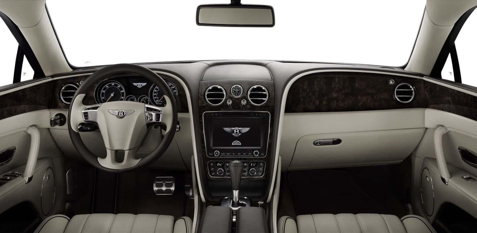 2014 Bentley Flying Spur Dashboard