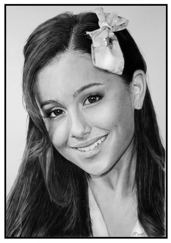Image of: Pencil Drawings Arianda Grande Pencil Drawing Unfinished Man Hyper Realistic Pencil Art By Franco Clun Unfinished Manunfinished Man