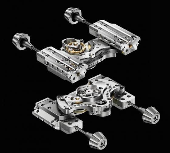 MB&F HM4 Final Edition Watch movement