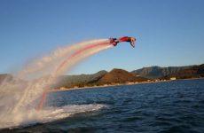 The Flyboard jetpack